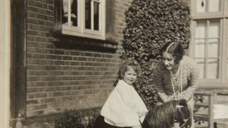 Unpublished family photographs of the Queen as a young girl
