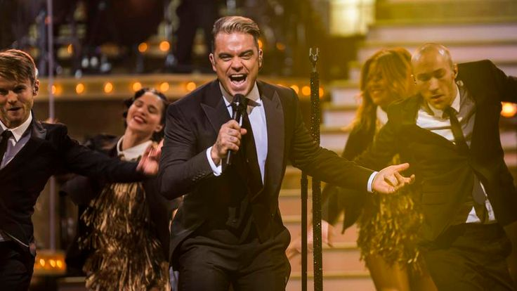 Robbie Williams at the London Palladium