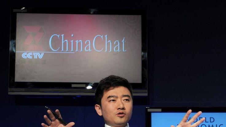 Rui Chenggang, director and anchor of China Central Televison (CCTV)