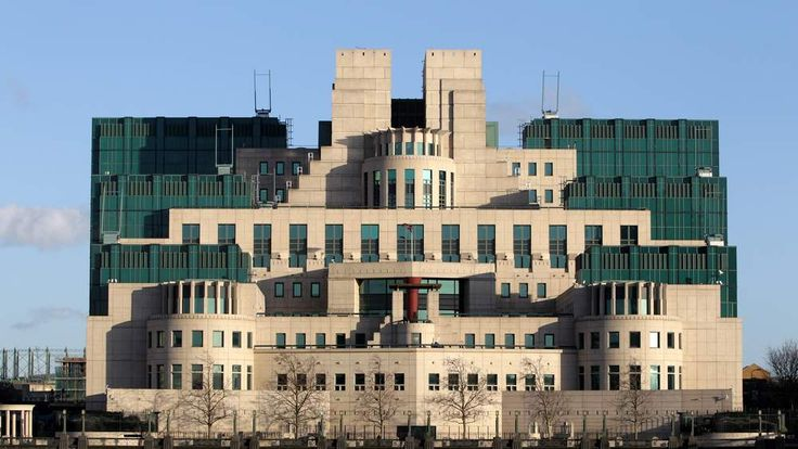 The headquarters of MI6, the Secret Intelligence Service