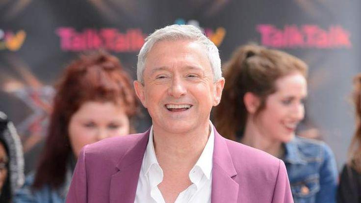 X Factor judge Louis Walsh.