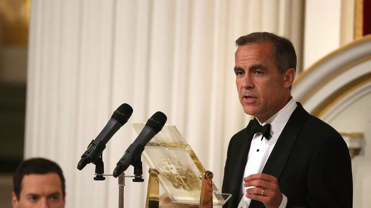 Mark Carney Speech At Mansion House