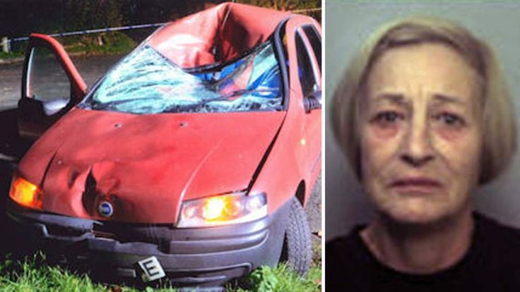 Alison Bowen crashed her car into a cyclist and later told officers she thought she had only hit a badger