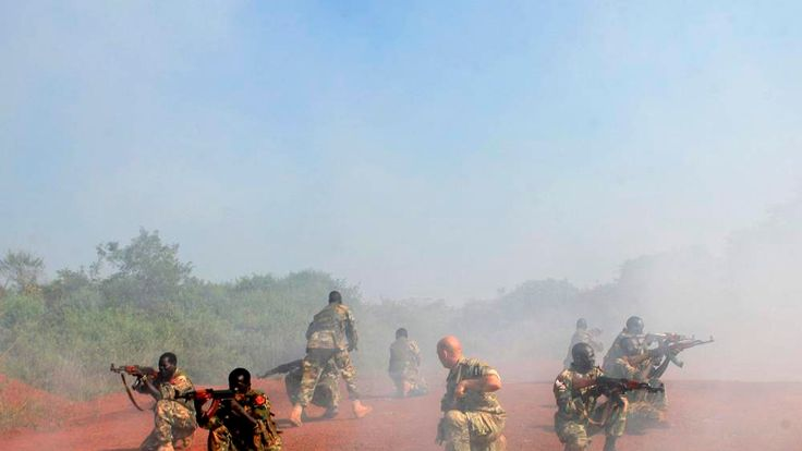 US Special Forces training Sudan People's Liberation Army