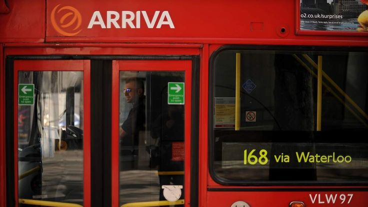A public bus operated by British transpo
