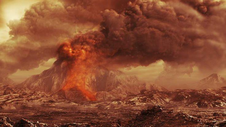 Evidence of active volancoes on Venus
