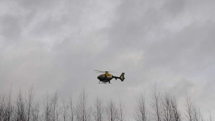 Avon and Somerset police helicopter