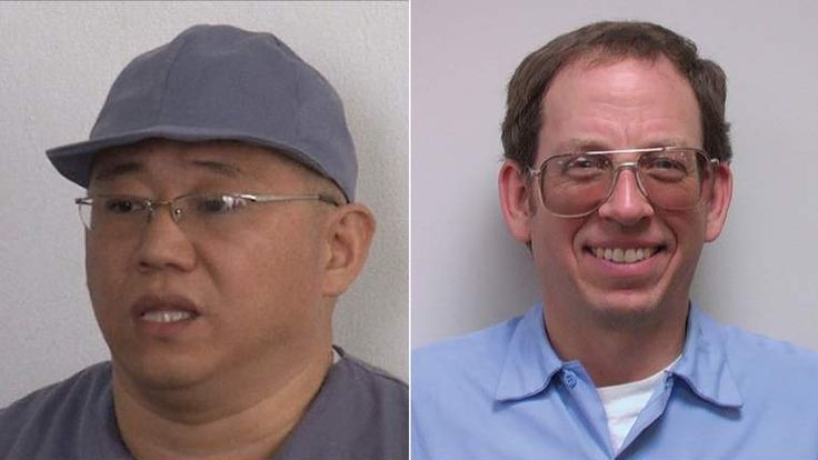 Kenneth Bae and Edward Fowle