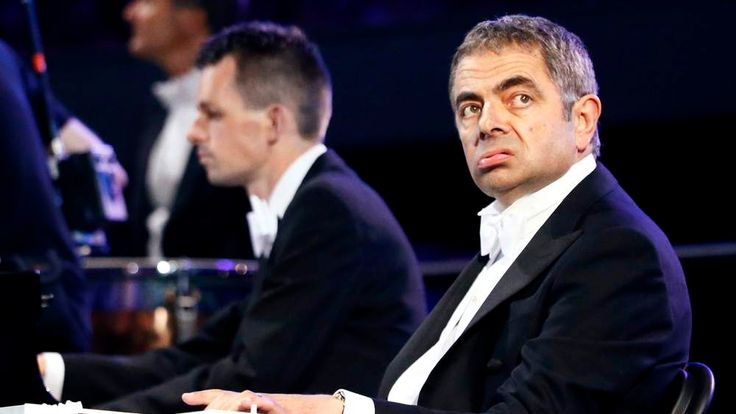 Rowan Atkinson in his role as Mr Bean in the Olympics opening ceremony