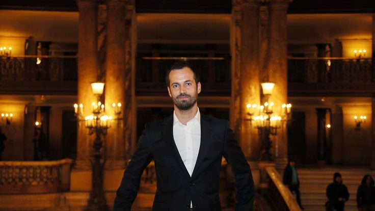 French dancer and choreographer Benjamin Millepied at the Garnier Opera in Paris