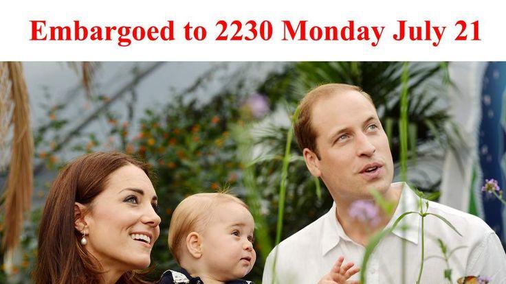 Prince George's first birthday
