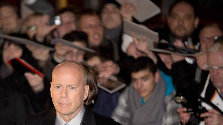 US actor Bruce Willis arrives for the German premiere of 'A Good Day to Die Hard'
