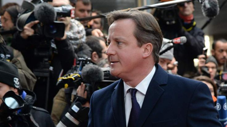 David Cameron attends EU summit in Brussels