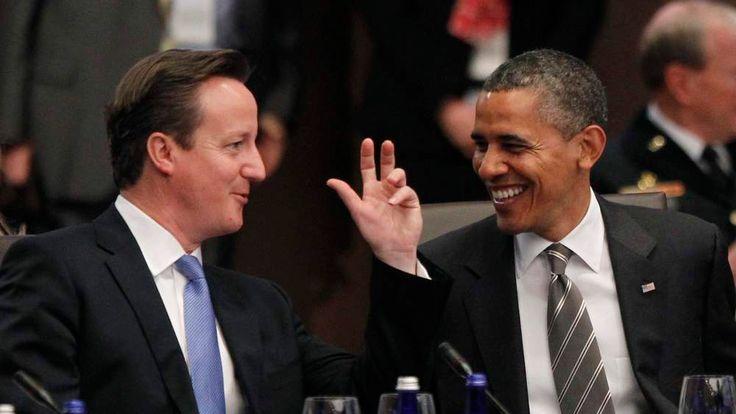 David Cameron and Barack Obama