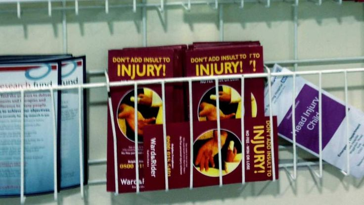 Personal injury lawyer adverts
