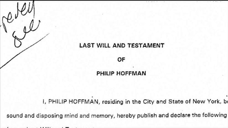 Philip Seymour Hoffman will