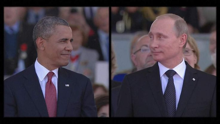 Presidents Obama and Putin