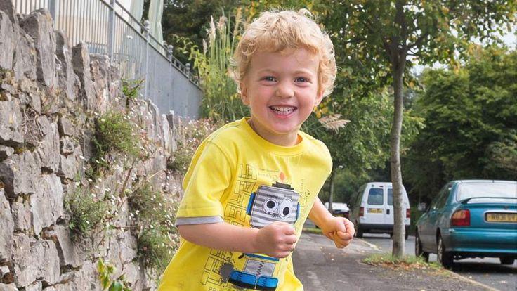 Toddler Samuel Morrish