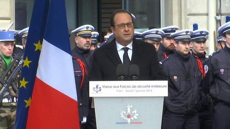 Francois Hollande leads tributes to Charlie Hebdo & Jewish supermarket victims