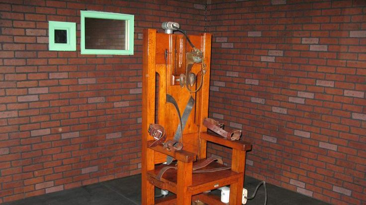 """Old Sparky"", the decommissioned electri"
