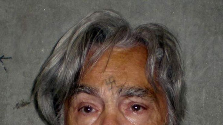 Convicted mass murderer Charles Manson