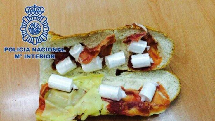 Cocaine sandwich.