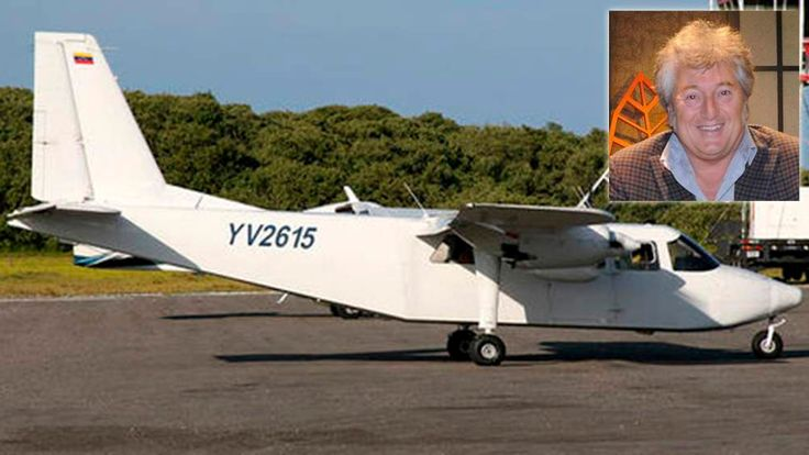 Undated handout photo shows the Britten-Norman BN-2 Islander aircraft YV-2615, which was reported missing