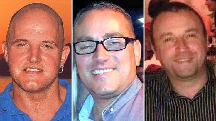 L-R Gavin Bradley, Mark Thorpe and Darren Thorpe