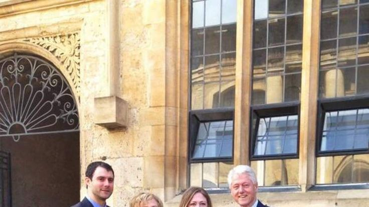 Chelsea Clinton Collects Oxford Doctorate