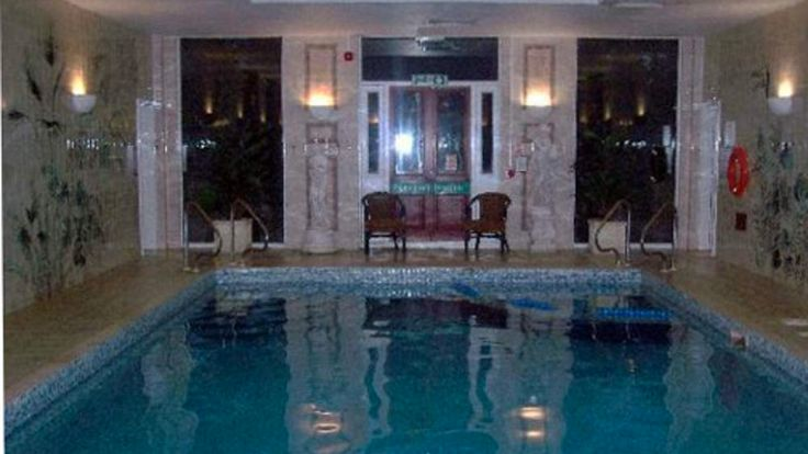 Down Hall Country House Hotel swimming pool