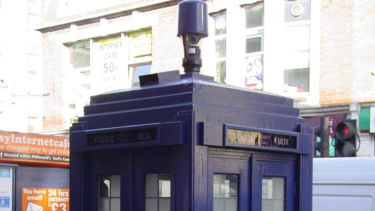 Police box in Earl's Court