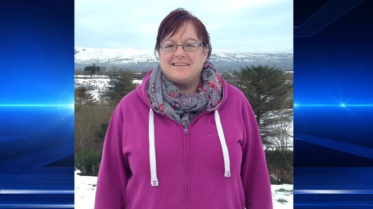 Northern Ireland householder Eilish Doyle, who had to use snow for water