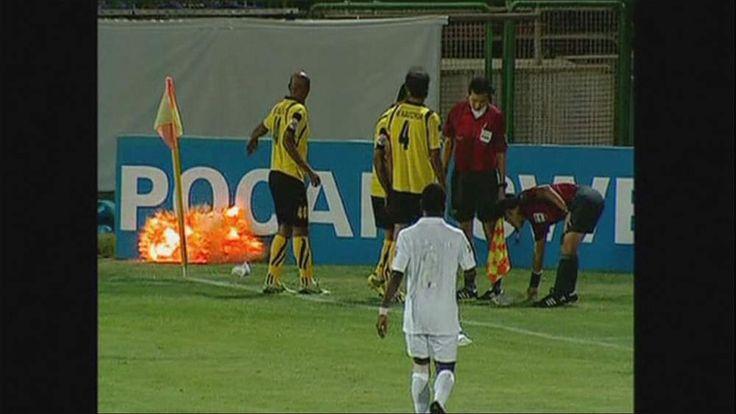 n at match between Iranian side Sepahan and Al Ahli of Saudi Arabia
