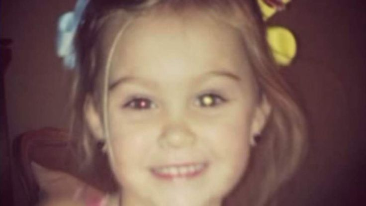 Rylee Taylor picture was posted by her mother Taylor. Pic: WREG-TV