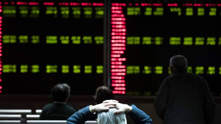 China Stock Markets Suspended