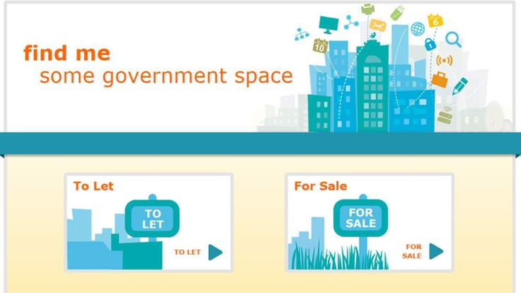 Find Me Some Government Space website