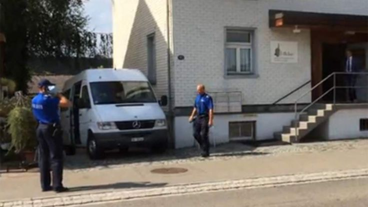 One dead after shooting at a mosque St Gallen Credit: Blick.Ch