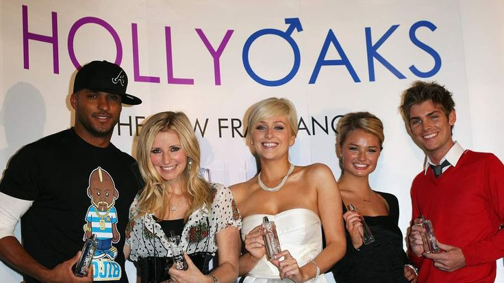 Hollyoaks Fragrances - Launch Photocall