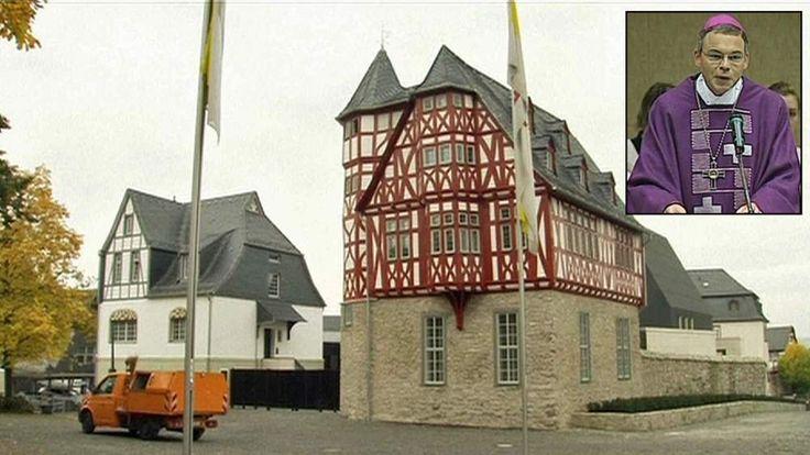 Bishop of Limburg Franz-Peter Tebartz-van Elst and his new residence