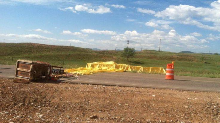 Hot air balloon crash in Denver