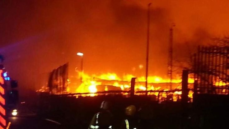 Birmingham Paper Mill Fire