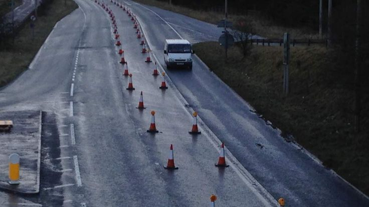 A465 in Gwent, Wales