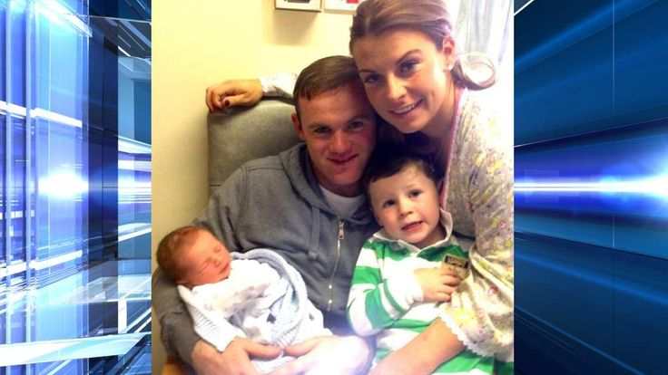 210513 ROONEY Twitter picture on Klay Rooney and family from @waynerooney