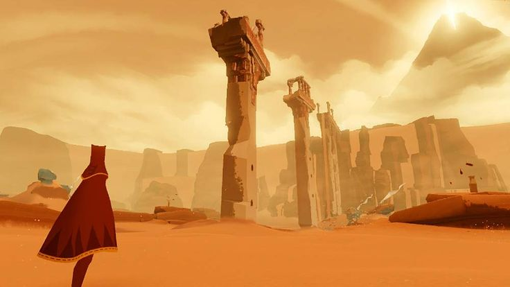 Screenshot from PlayStation 3 game Journey