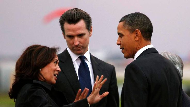 Obama with Kamala Harris