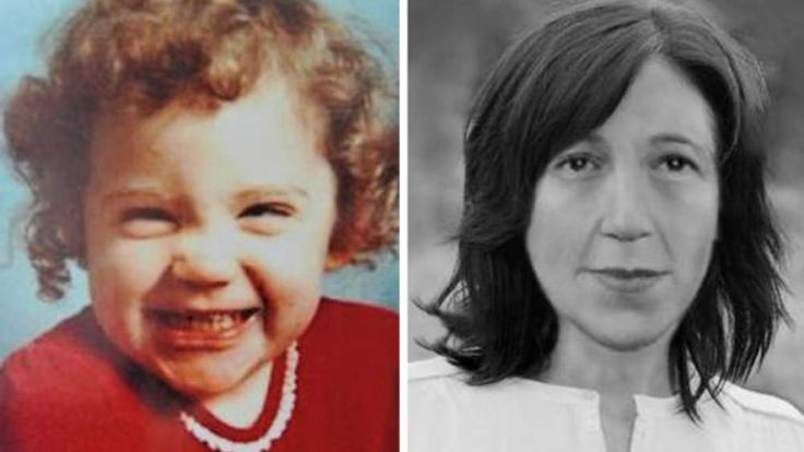 Katrice Lee as she was at the time of her disappearance (L), and how she might look now
