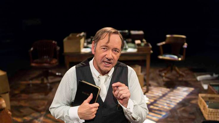 Kevin Spacey in Clarence Darrow at The Old Vic