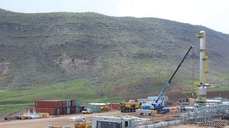 Drilling by Gulf Keystone in Kurdistan