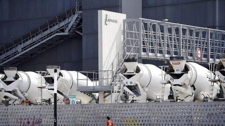 Lafarge Cement Lorries