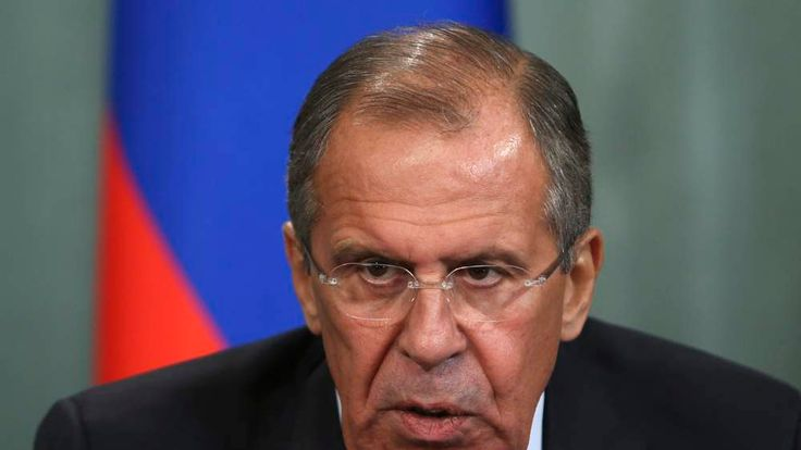 Russian FM Sergai Lavrov